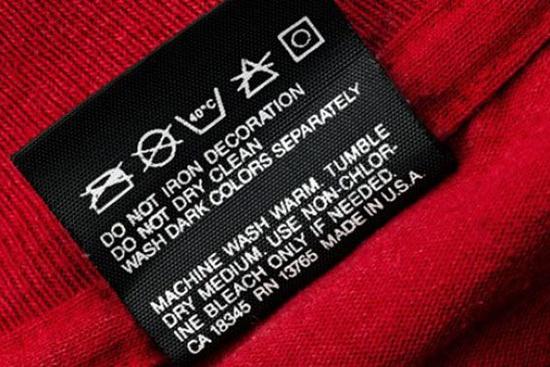 ярлыки на одежде расшифровка знаки и символы